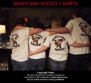 Maryland Rocks Back T Shirt TM Hottestdecals.com 2015